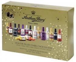 Anthon Berg Шоколадные конфеты бутылочки с премиальным алкоголем 750г