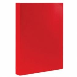 Папка 60 вкладышей STAFF, красная