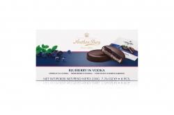 Anthon Berg Шоколадные конфеты с марципаном Голубика в водке 220г