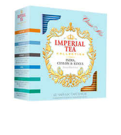 "Imperial Tea Collection ""Classic Mix"", 60 пакетиков."