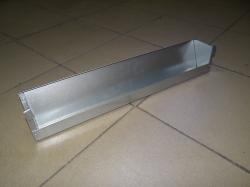 Кормушка для перепелов подвесная металлическая 50 см.