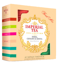 "Imperial Tea Collection ""Fruit Mix"", 60 пакетиков."