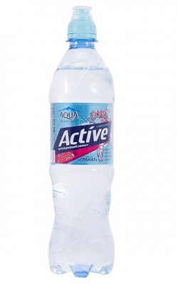 Вода Аква Минерале Актив Гранат