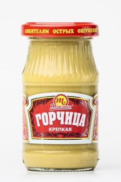 """Горчица """"Крепкая"""" 170 гр."""