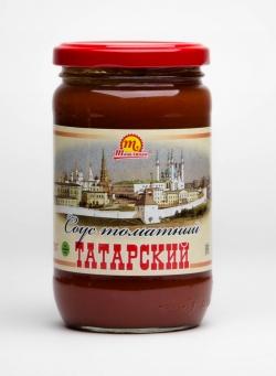 """Соус томатный """"Татарский"""" 370 гр"""