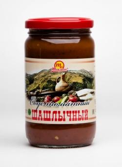 """Соус томатный """"Шашлычный"""" 370 гр"""