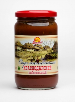 """Соус томатный """"Краснодарский"""" любительский 370 гр"""