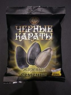 Семечки Черные караты 100 гр.