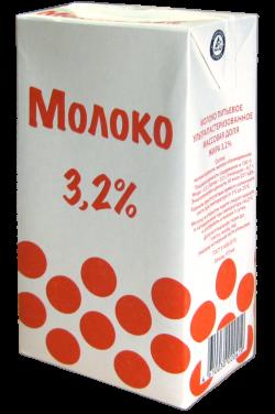 "Молоко ультропастер. 3,2 % ""Шарики"" 1л ГОСТ"