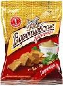 ГРЕНКИ Воронцовские со вкусом горчицы Т22х60г
