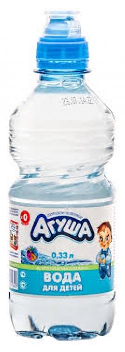 Агуша Вода Питьевая 0,33л (12) пэт