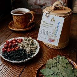 Иван-чай Владимирской губернии в берестяном туеске