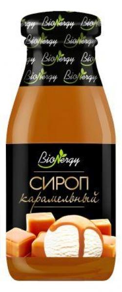 """Карамельный сироп """"BioNergy"""", 0,2 л."""