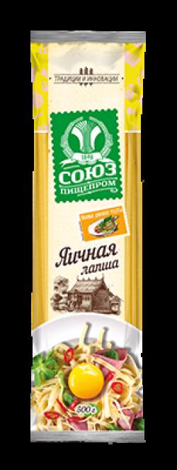 Макароны Союзпищепром Лапша яичная 500г (20)