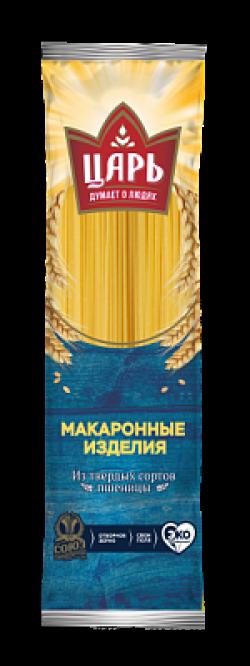 Мак изд Царь Спагетти тонкие в/с группа А 500г (24)