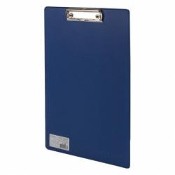 Доска-планшет Офисмаг с прижимом А4 (230х350 мм), синяя