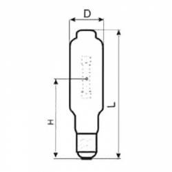 Лампа ДРИ 1000-6 (Е40) LUXE