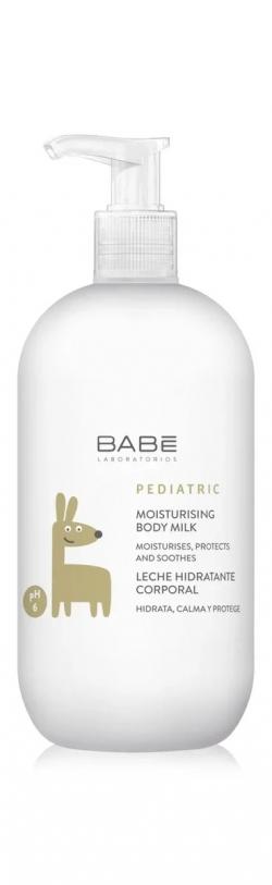 БАБЕ молочко для тела увлажняющее детское 500мл Laboratorios BABE