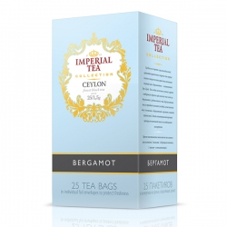 "Imperial Tea Collection ""Бергамот"". 25 пакетиков."