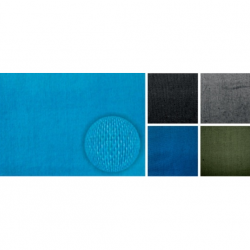 Бязь гладкокрашеная, цвет бирюзовый, метр. пог. 1 сорт