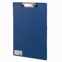 "Доска-планшет BRAUBERG ""Comfort"" с прижимом А4 (230х350 мм), синяя"