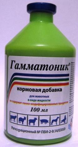 Гамматоник 100 мл