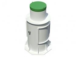 Автономная канализация ТОПОЛЬ 9 Плюс для частных домов на 8 и 9 человек