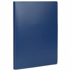 Папка на 2 кольцах STAFF, 21 мм, синяя