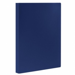 Папка 20 вкладышей STAFF, синяя