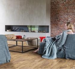 ПВХ плитка Quick Step коллекция Balance Click Каштан винтажный натуральный