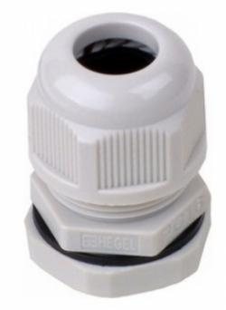Ввод кабельный PG-16 (10-14 мм) серый