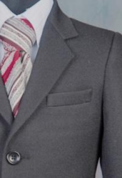 Костюм Dendy Ekonomi двойка серый