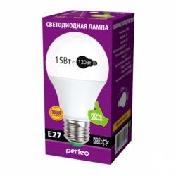 Лампа Perfeo LED PF-A65 15W 4000K E27