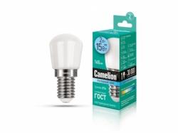 Лампа Camelion LED2-T26/845/E14 для холодильника (холодный)