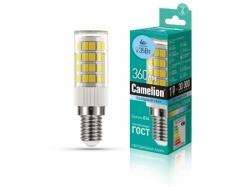 Лампа Camelion LED4-S105/845/E14 (ДЛЯ холодильника 4Вт 220В)=35Вт кукуруза