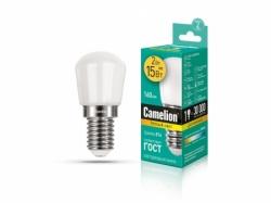 Лампа Camelion LED2-T26/830/E14 для холодильника (теплый)