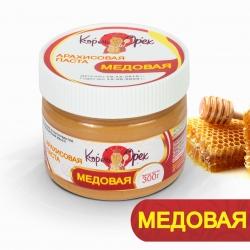 Арахисовая паста «Медовая» 30 гр