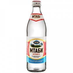 Вода МТАБИ питьевая газированная лечебно-столовая 0,45 л (12)