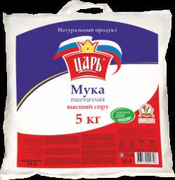 Мука Царь пшеничная в/с 5кг (10) меш