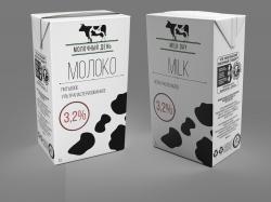 """Молоко ультропастер. """"Молочный День"""" 1л ГОСТ"""