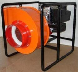 Дымосос ДПМ-7 (4ЦП) для боевых пожарных расчетов с двигателем внутреннего сгорания