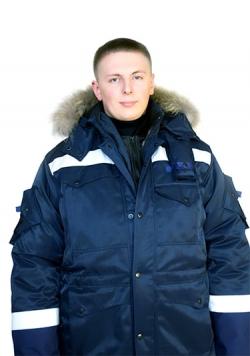 Верхний костюм строитель Арктики c утеплителем из оленьей шерсти