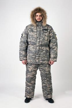 Верхний костюм «Охота-рыбалка» c утеплителем из оленьей шерсти