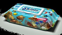 Влажные салфетки для детей Skippy Aqua (80шт.)