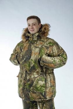 Зимний костюм верхний «Охота и рыбалка» c утеплителем из оленьей шерсти